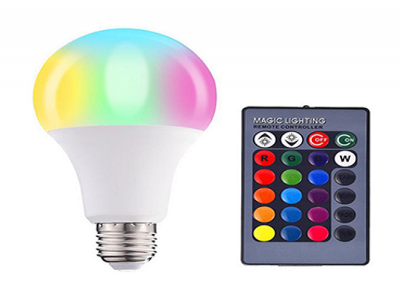 RGB LED Bulb Light