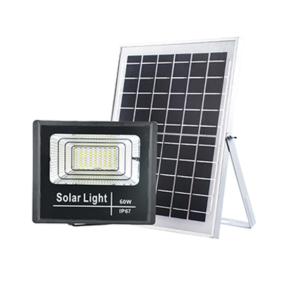 Solar powered led flood light
