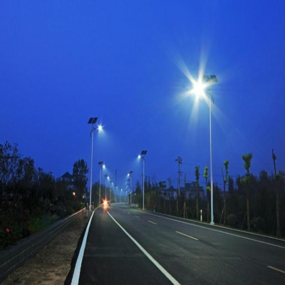 Application of solar LED street light