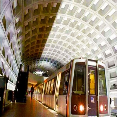 15 subway stations in Washington upgraded to LED lighting