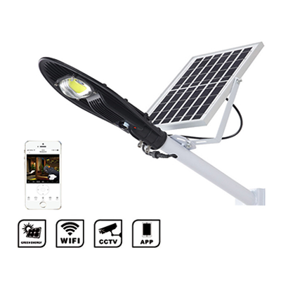 APP Camera Solar LED Street Light